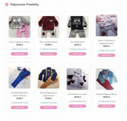 Najnowsze produkty w sklepie internetowym maliczek.pl