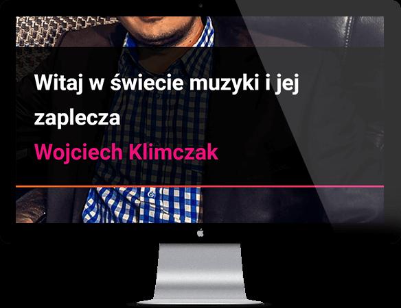 Strona producentmuzyczny.pl na monitorze