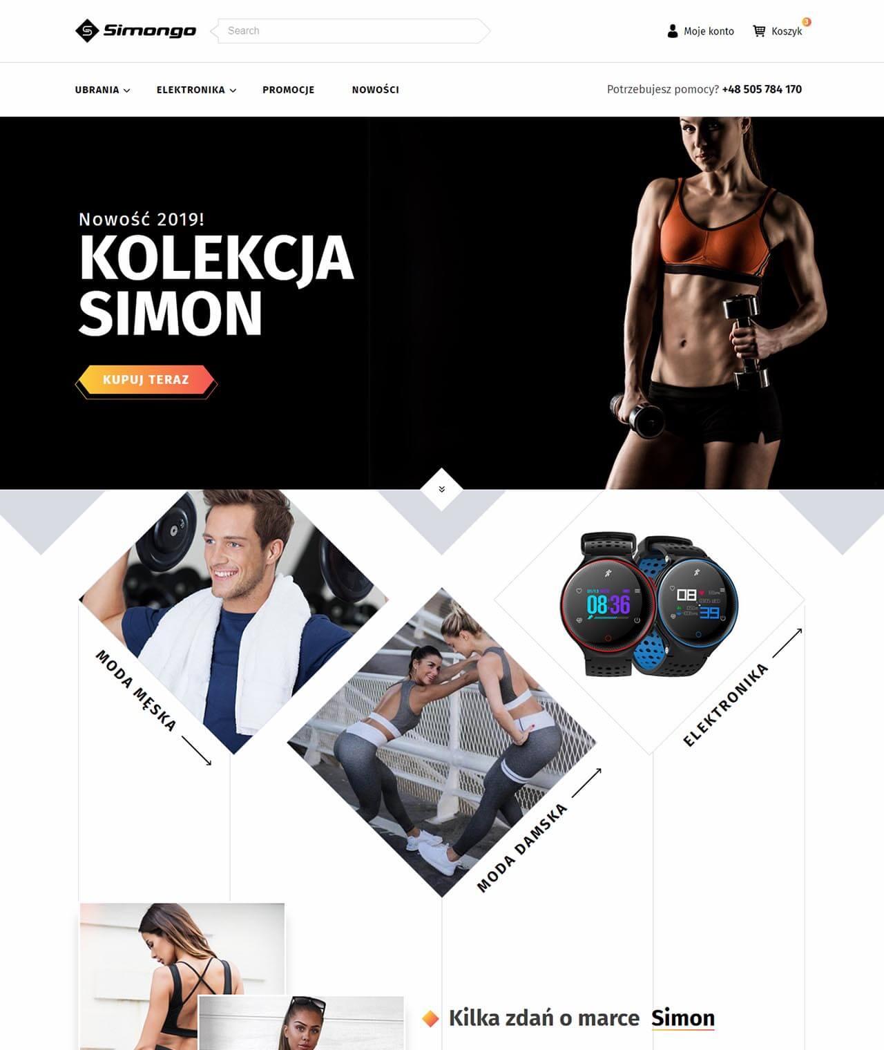 Sklep internetowy simongo.pl
