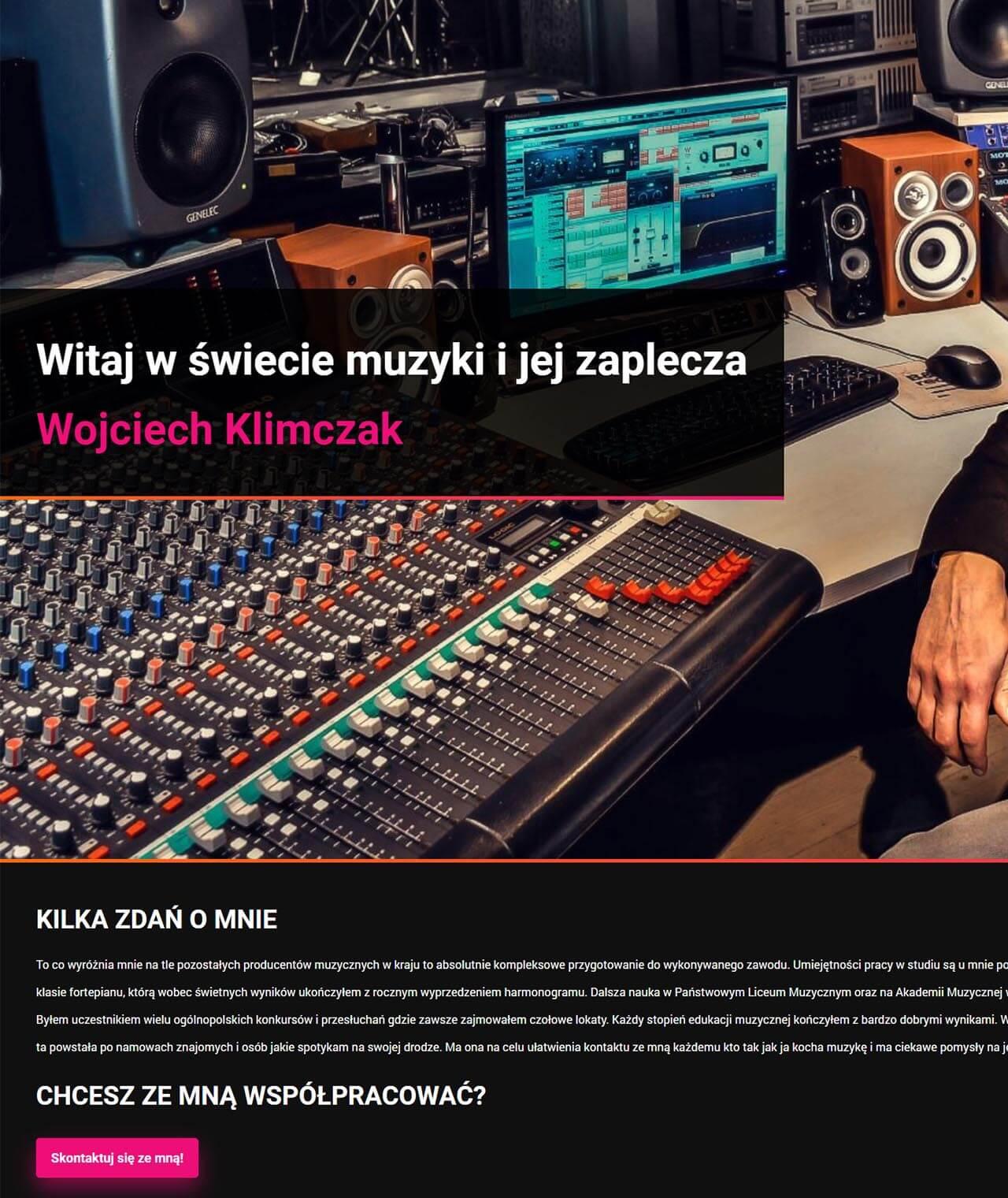 Strona producentmuzyczny.pl