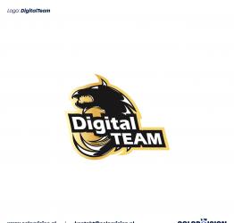 Digital team logo