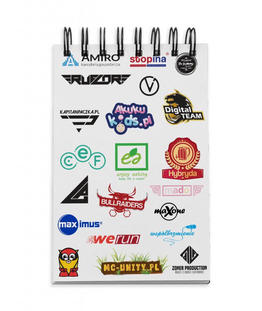 Zeszyt z logotypami ColorVision